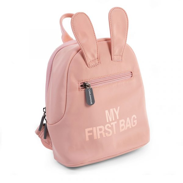 Childhome Zainetto My First Bag PINK COPPER (7)