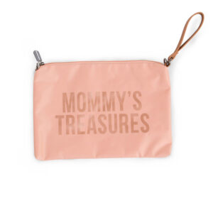 Childhome Pochette Mommy's Treasures Clutch Pink Copper